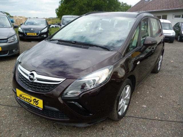 Opel Zafira 2,0 TDi 7.MÍST,SERVISKA