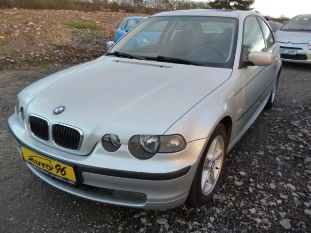 BMW Řada 3 316 ti COMPACT NAVI  TOP SERVISKA